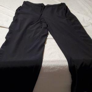 Large Avon black sport pants polyester spandex.